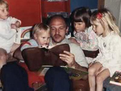 Michael-teaching-children